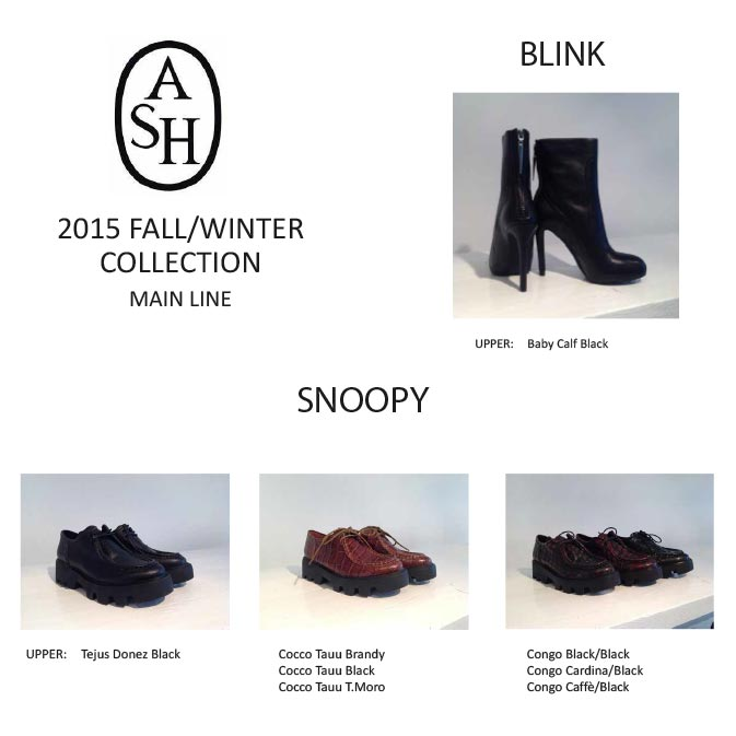 2015 Fall/Winter Collection Main Line