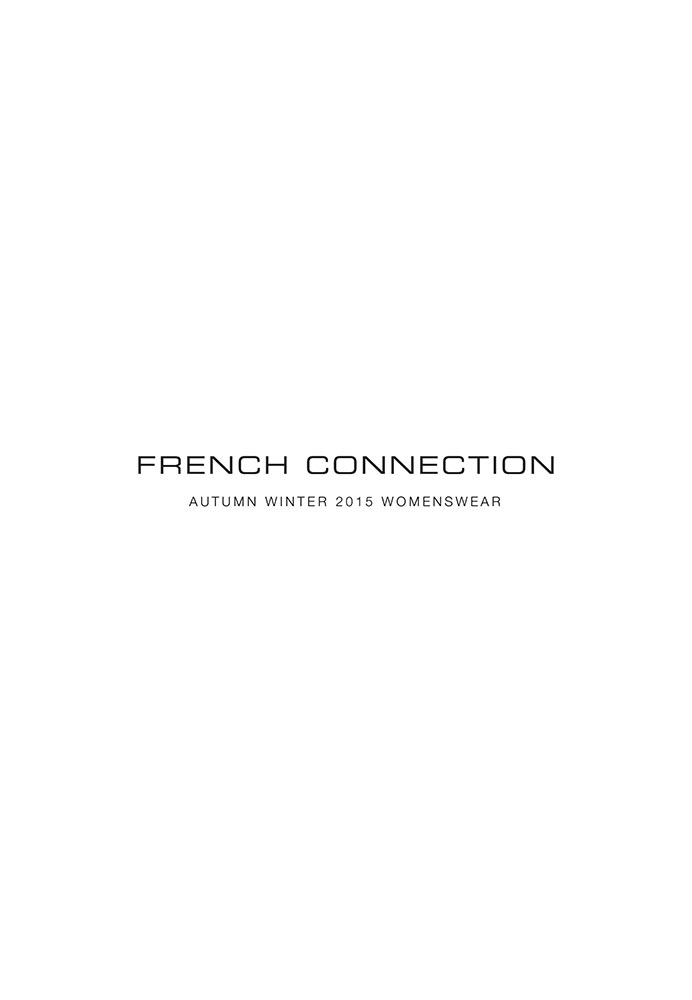 FRENCH CONNECTION - WOMENSWEAR - A/W 2015