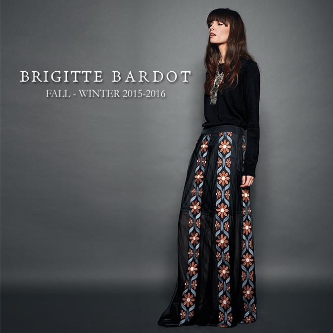 BRIGITTE BARDOT - FALL/WINTER 2015-2016